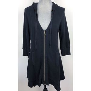 XCVI | Hoodie Zip Long Jacket Boho